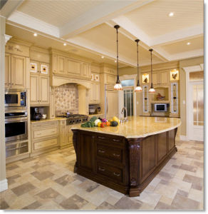 New Design Solid Wood Kitchen Cabinet Home Furniture#205 pictures & photos