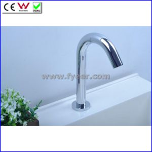 China Cold Only Sensor Tap Automatic Basin Faucet (QH0139) pictures & photos