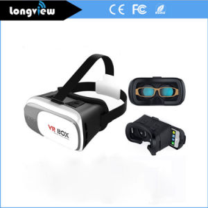 OEM High Quality 3D Vr Headset Glasses for Phone with Bluetooth Remote Controller pictures & photos