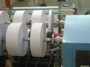 PLC Controlled Label Stock Slitting Rewinding Machine pictures & photos