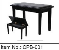 [Chloris] Factory Price Wholesale Adjustable Piano Stool, Folding Piano Bench