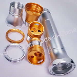 Precision Metal Parts for Glare Flashlight