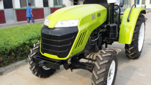 Huaxia Factory 60HP Mini Farm Tractor with CE/Coc/EPA Certificate Fit with Front Loader/Backhoe/Plough/Trailer pictures & photos