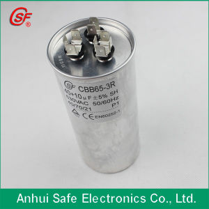 High Quality Single Phase Power Factor Correction 370VAC 65UF Cbb65 Capacitor pictures & photos