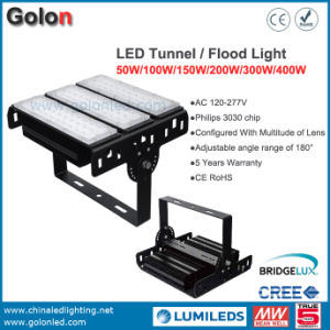 Best Quality Tunnel Light 200W IP65 Waterproof 5 Years Warranty 400W 300W 150W 100W 50 Watts LED Tunnel Lamp pictures & photos
