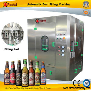 Automatic Small Rotary Type Beer Filling Machine pictures & photos