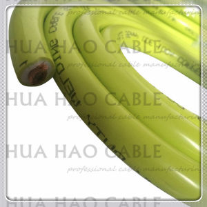 Green PVC Insulation CCA Conductor Welding Cable pictures & photos