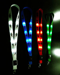 Special Design LED Light Lanyards pictures & photos