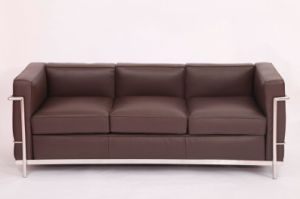 china bauhaus furniture factory le corbusier lc2 sofa and armchair replica china lc2 sofa lc2. Black Bedroom Furniture Sets. Home Design Ideas