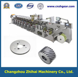 Gear Used in Flexible Printing Machine