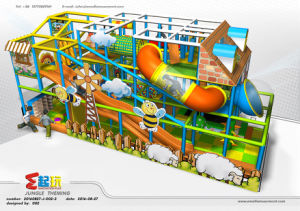 Cartoon Themed Indoor Amusement Park for Children