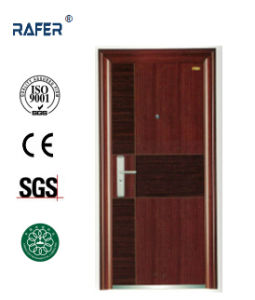 New Design Two Colors Steel Door (RA-S019) pictures & photos
