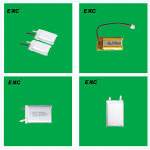 High Quality 401235 110mAh Li-Polymer Battery with Bluetooth Certificate pictures & photos