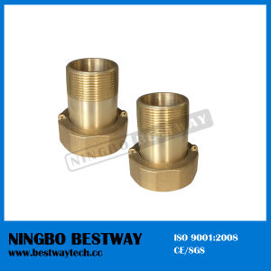 Ningbo Bestway Standard NPT Thread Eco Brass Water Meter Coupling pictures & photos