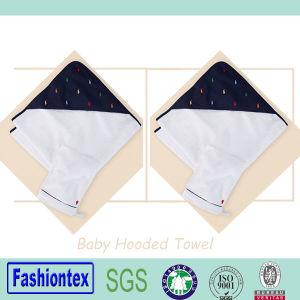 100% Cotton Infant Bamboo Bath Towel Baby Hooded Towel pictures & photos