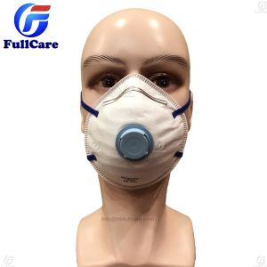 Mask Respirator Dust P2 Face Dispsable Valve