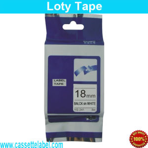 Compatible for Brother P-Touch Tape Tze-241 Label Tape Tz-241 Tze241 Tz241