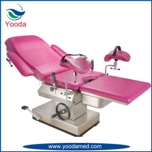 Electric Height Adjustable Gynecology Ldr Bed pictures & photos