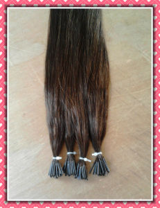 "Pre-Bonded Hair Extension I-Tip Silky 20"" pictures & photos"