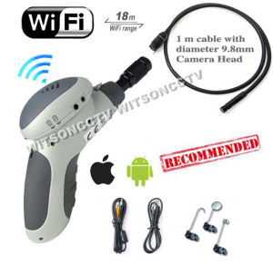 Witson Wireless Snake Scope Camera Endoscope Handheld Borescope WiFi Connect on iPhone iPad Android (W3-CMP3813WX) pictures & photos