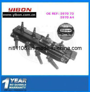 Ignition Coil 5970 73 for Peugeot with ISO/TS16949