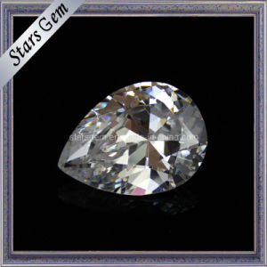 Brilliant Pear Shahpe CZ Gemstone pictures & photos