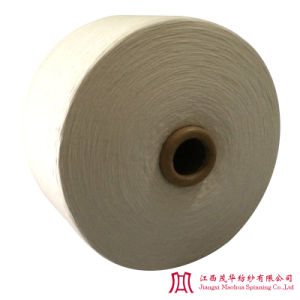 Recycled Raw White Polyester Cotton Yarn (21S)