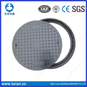Composite Manhole Cover with Clear Open 270 (C250) pictures & photos