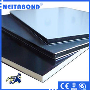 4mm Aluminum Plastic Composite Panel for Curtain Wall (Fireproof B1 or A2 Standard) pictures & photos