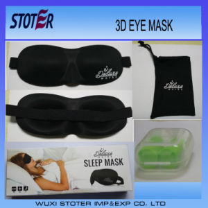 Hot Sale 3D Luxury Travel Sleep Eye Masks