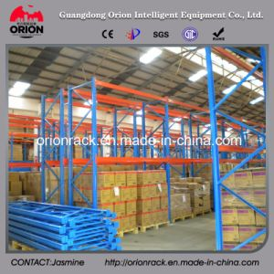 Selective Pallet Display Rack for Warehouse Storage