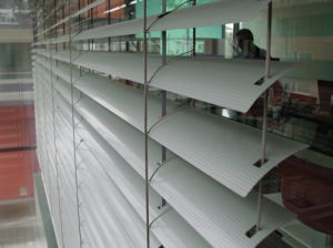 Motorized Aluminum External Venetian Blind