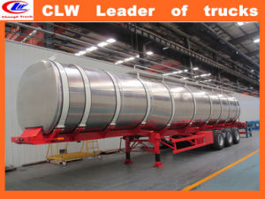 50m3 Stainless Steel Diesel Tanker Trailer 30ton Oil Tanker Trailer pictures & photos