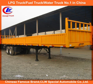 2-Axle 40feet Side Wall/Wall Side/Cargo Truck Semi Trailer pictures & photos