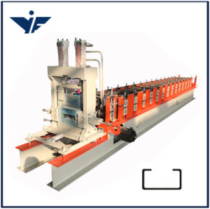 Roofing Sheet Roll Forming Machine Automatic C Purlin Roll Forming Machine