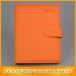 China Cheap Leather Custom Notebook Manufacturer pictures & photos