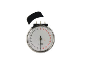N1.53 Lens Clock / Radian Gauge with Stainless Steel Gauge