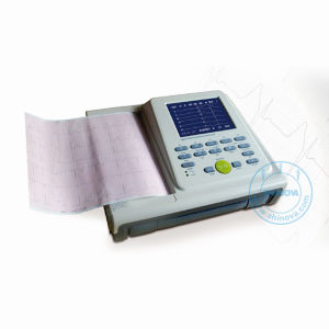 12 Channel Digital Electrocardiograph (ECG-8012) pictures & photos