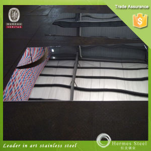 201 304 316 430 Mirror Finish Stainless Steel Sheet for Interior Wall Panels pictures & photos