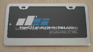 Customized License Plate Holder (HX-L01) pictures & photos