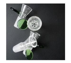 Glass Bowls Top Bowl with 14.5mm Male Joint Dry Herb Bowl for Glass Smoking Water Pipe pictures & photos