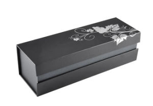 Quality and Luxury Leather Velvet Plastic Paper Box for Presents Gift Souvenir Watch Cup Bottle Phone Charger Disk Memory (YS965)