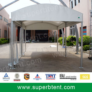 3m Frame Tent with Transparent PVC Fabric Sidewall