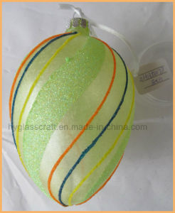 Hand Painting Glass Egg Ornament for Eastern Decoration pictures & photos