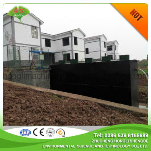 2016 New Style, Buried Integrate Wastewater Treatment for Hotel pictures & photos