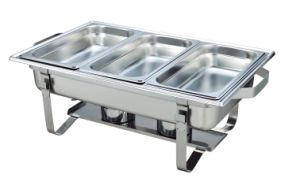 9L Foldable Leg Stainless Steel Chafing Dish (CD004) pictures & photos