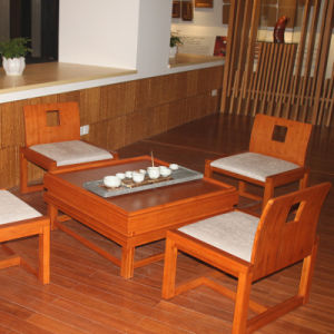 Europen Style Bamboo Table for Dining pictures & photos