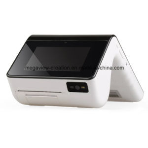 POS PDA W/ WiFi /4G / NFC /58mm Thermal Receipt Printer/2D Barcode Scanner Mg-Bt9885 pictures & photos