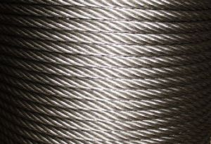 8.0mm 7X7 AISI316 Stainless Steel Strand Wire Rope and Cables