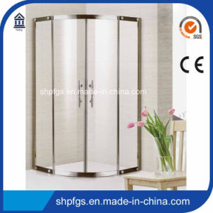 Tempered Glass Simple Shower Room